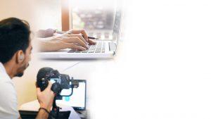 تولید محتوای متنی و تصویری