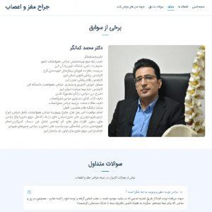 نمونه کار طراحی سایت معرفی