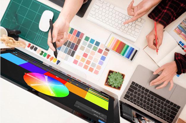 تیم طراحی گرافیکی و تدوین راحت بین