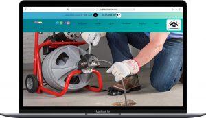 نمونه کار طراحی سایت معرفی تخلیه چاه طراحی توسط آزانس خدمات کسب و کار راحت بین RahatBin