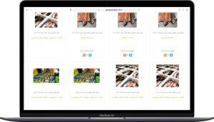 طراحی سایت فروشگاهی نواندیشان پیک سبز ارائه شده توسط آژانس خدمات کسب و کار راحت بین RahatBin