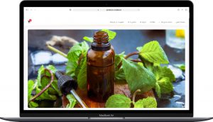 نمونه کار طراحی سایت فروشگاهی سرن کو توسط آزانس خدمات کسب و کار راحت بین RahatBin