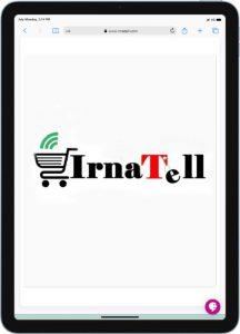 نمونه کار طراحی سایت فروشگاهی ایرناتل Irnatell توسط راحت بین RahatBin