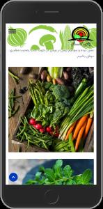 سایت طراحی شده برای فروشگاه یاس کام توسط آژانس خدمات کسب و کار راحت بین RahatBin