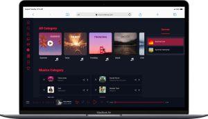 نمونه کار طراحی سایت دنس موزیک توسط آژانس خدمات کسب و کار راحت بین RahatBin