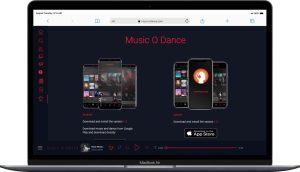 طراحی سایت موزیک توسط گروه راحت بین RahatBin