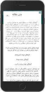 نسخه موبایل فروشگاه اینترنتی گوشی زون طراحی شده توسط گروه راحت بین RahatBin