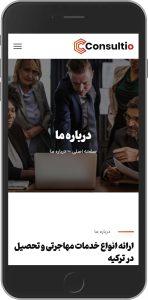 سایت طراحی شده توسط آژانس خدمات کسب و کار راحت بین RahatBin برای دپارتمان آتیلا استادی