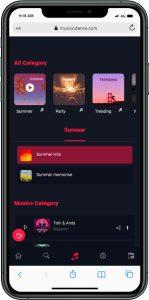 نسخه موبایل طراحی سایت توسط آژانس راحت بین RahatBin